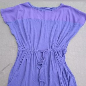 womens royal blue Mossimo blouse extra small